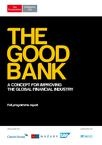 The Good Bank Report