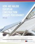 Study 2016 - Performance of major european construction groups